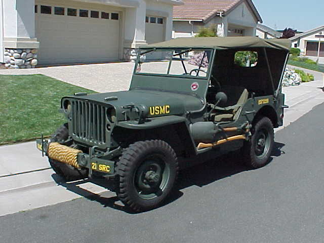 Usmc Jeep Markings And Color In Late Ww2 G503 Military